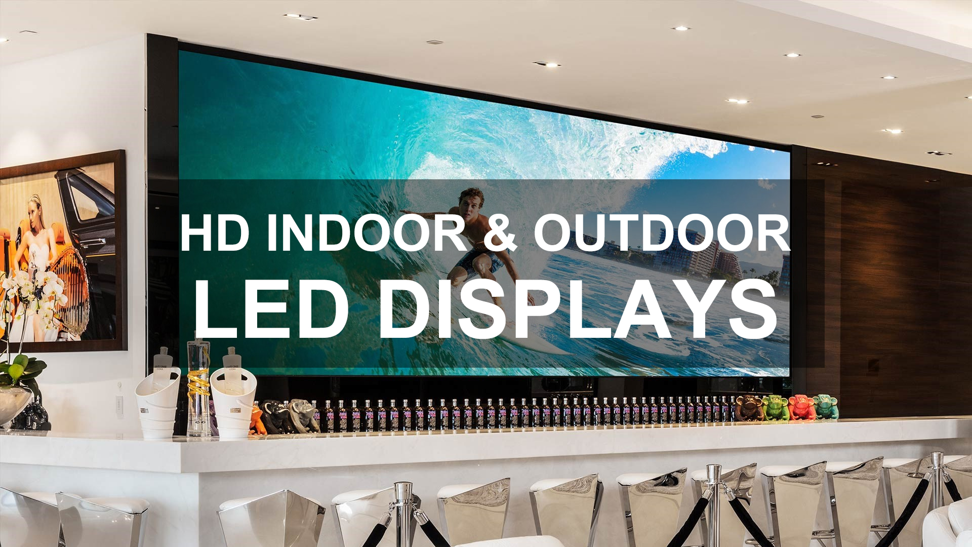 HD Indoor & Outdoor LED -näytteet