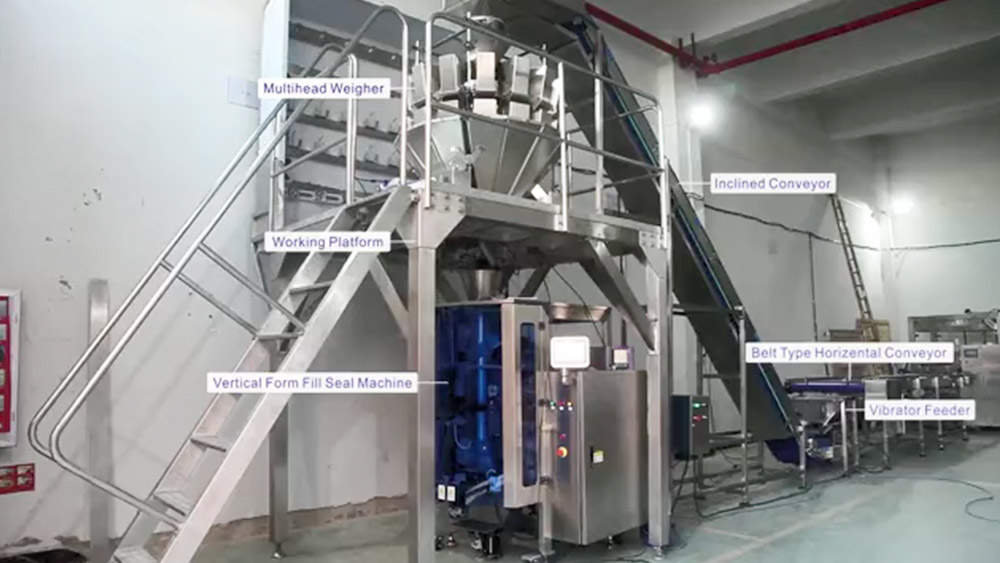 High Quality Weighing filling packing system for industry production Supplier