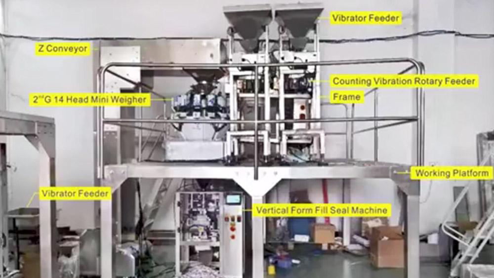 Systèmes de remplissage et de pesage à 2 canaux