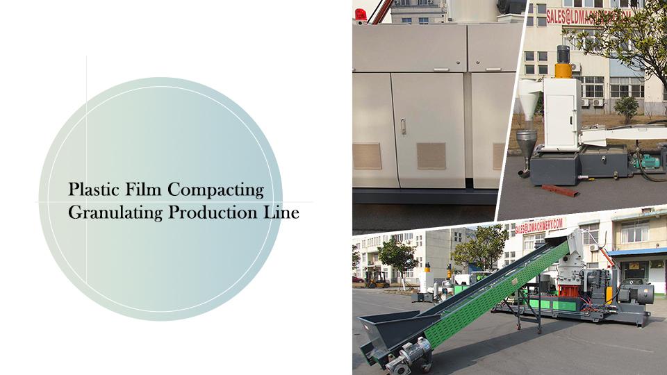 Plastic Film Compacting Granulating Production Line