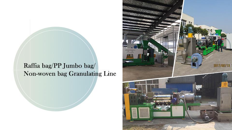 Raffia Bag / PP Jumbo Bag / BAG non tessuto Linea di granulazione