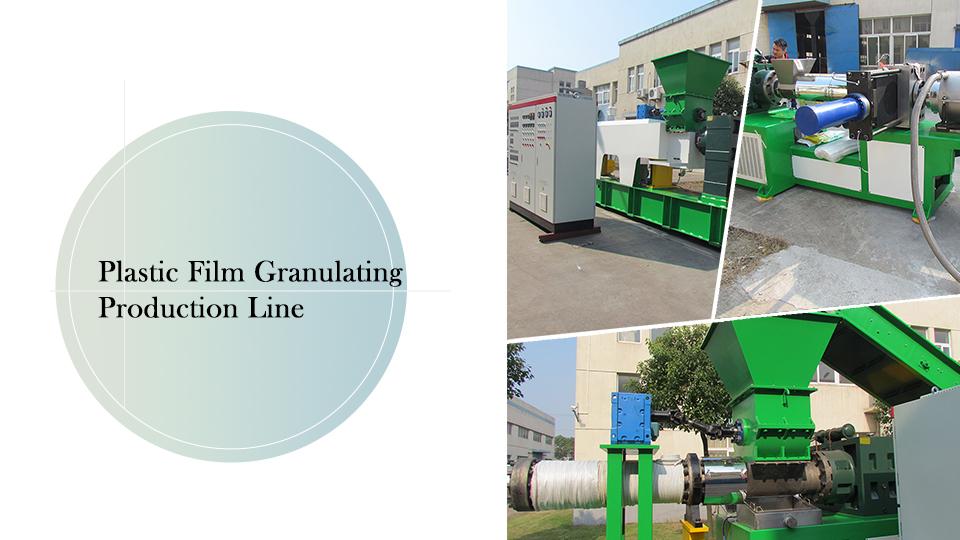 Plastic Film Granulating Production Line