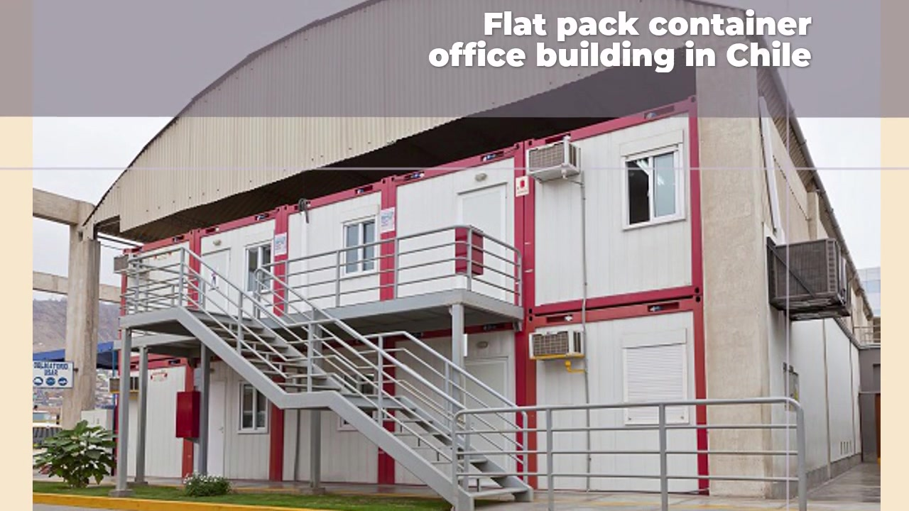 Flat Pack Container Office Building